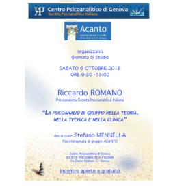 Incontrocon Riccardo Romano
